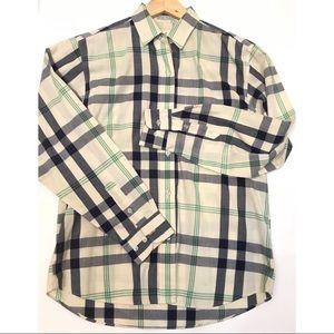 Diane Von Furstenberg | Lightweight Plaid Shirt